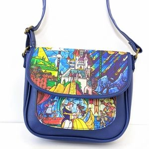 Loungefly Disney Beauty & the Beast Crossbody Bag